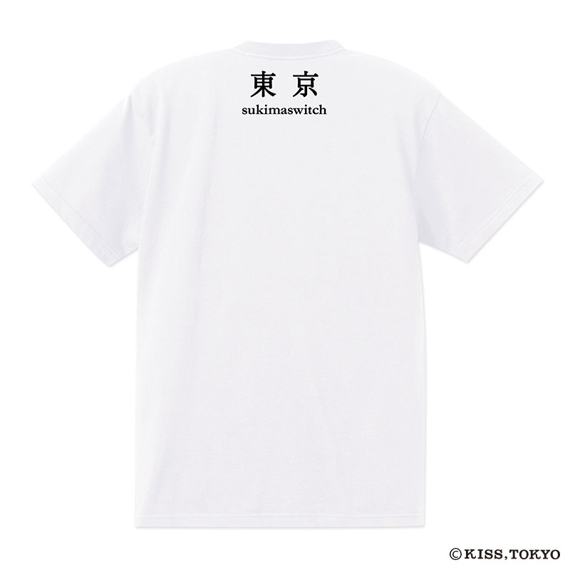 KISS,TOKYO×スキマスイッチ コラボTシャツ